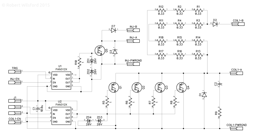 Capacitor Discharge PCB